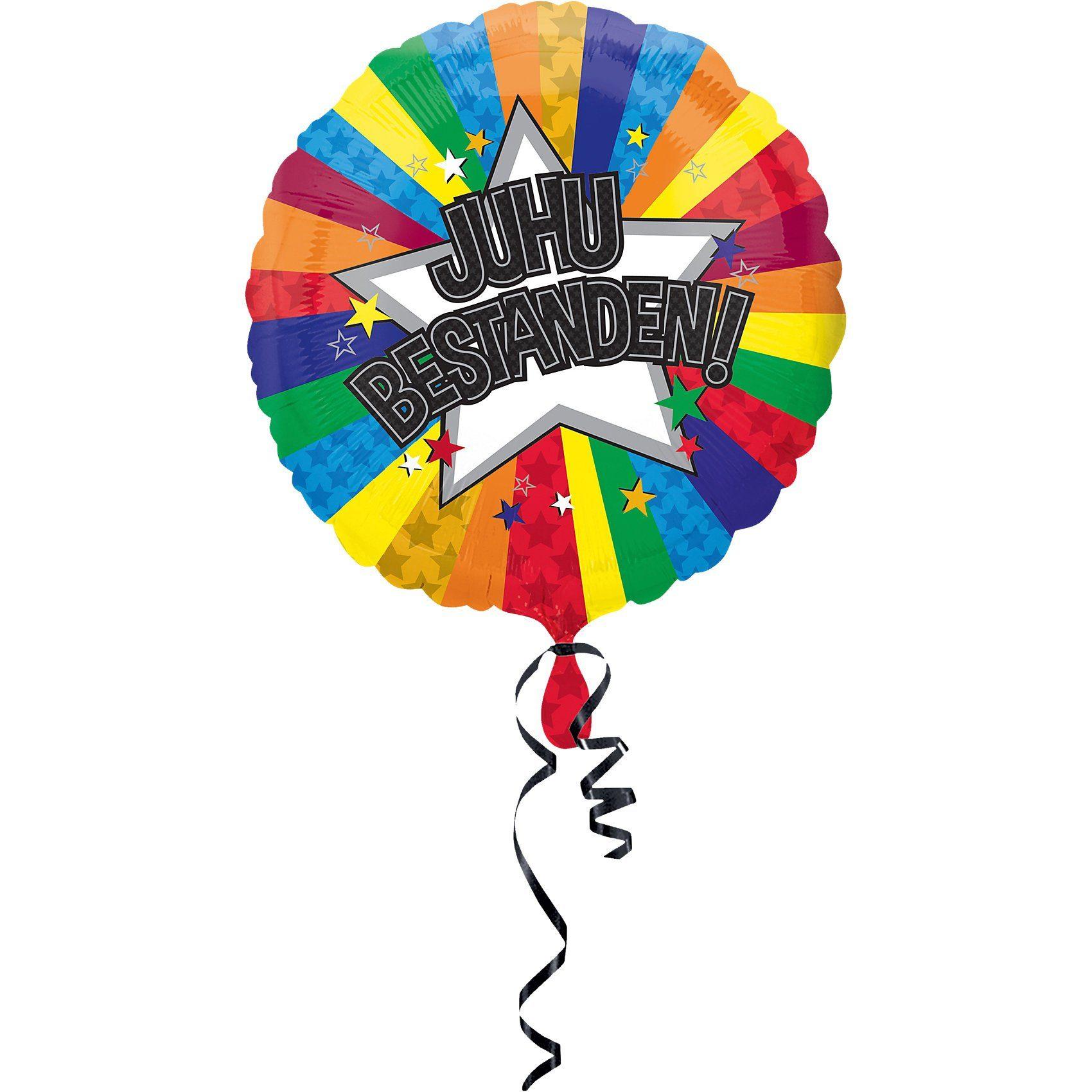 Amscan Folienballon Juhu Bestanden