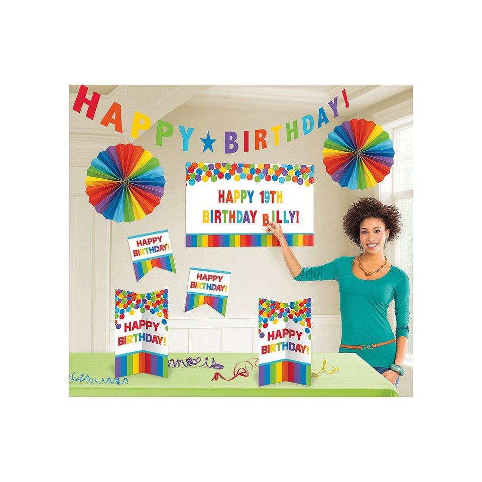 Amscan Dekoset Birthday Rainbow