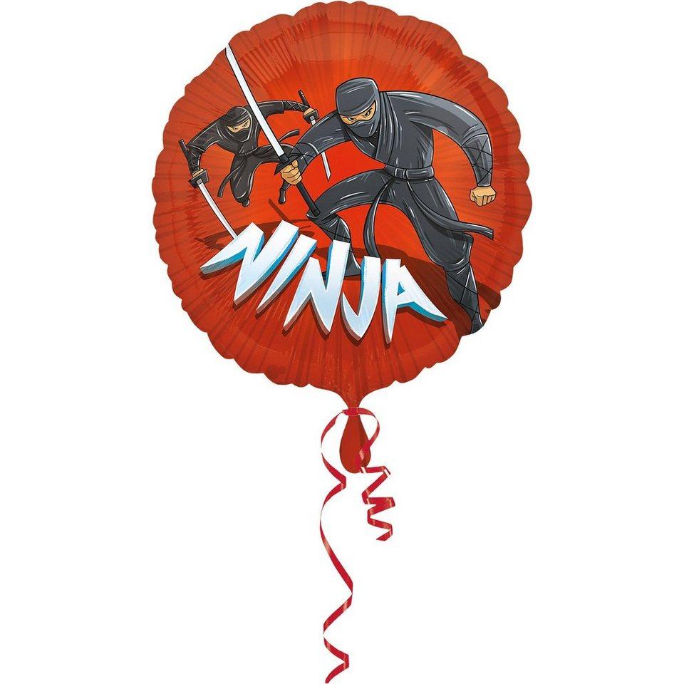 Amscan Folienballon Ninja