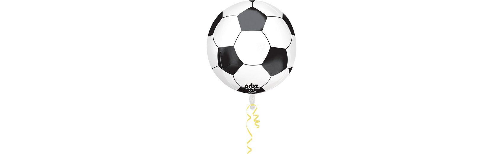 Amscan Folienballon Orbz Fußball