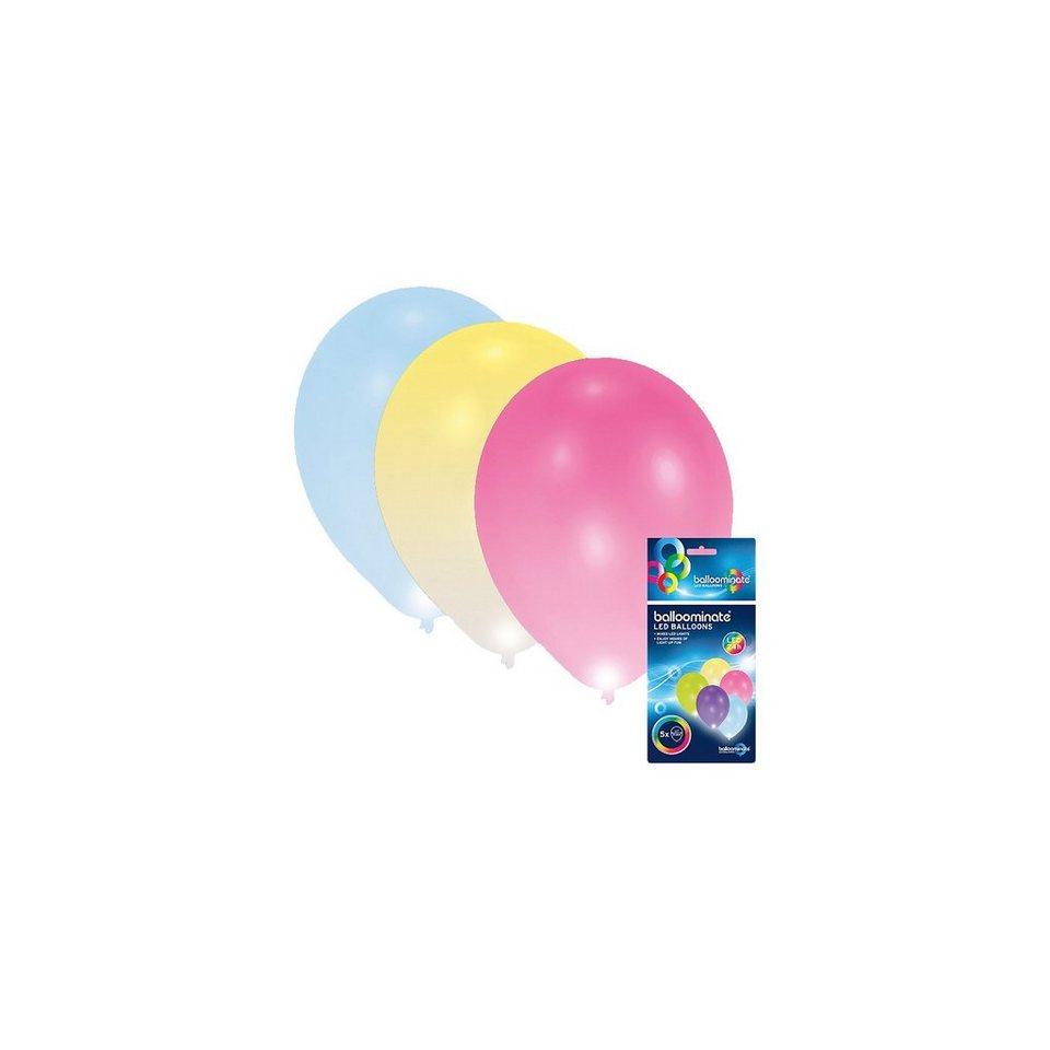 amscan led luftballons 5 st ck online kaufen otto. Black Bedroom Furniture Sets. Home Design Ideas