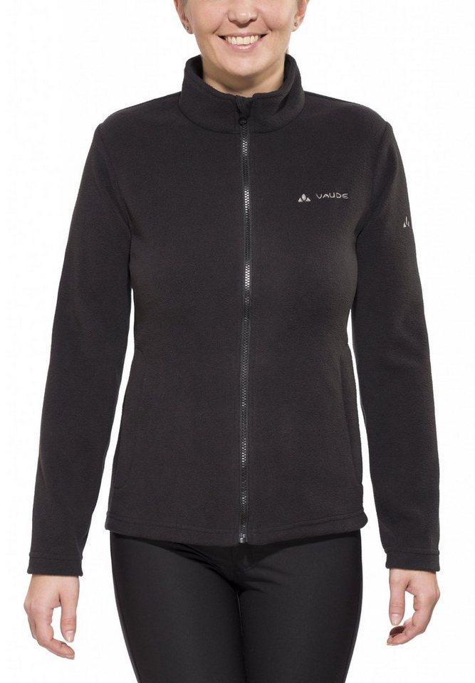 VAUDE Outdoorjacke »SE Fleece Jacket Women« in schwarz
