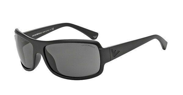 Emporio Armani Herren Sonnenbrille » EA4012« in 504287 - schwarz/grau