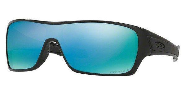 Oakley Herren Sonnenbrille »TURBINE ROTOR OO9307« in 930708 - schwarz/blau