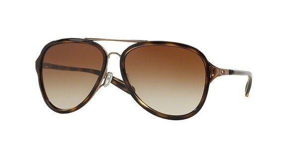 Oakley Damen Sonnenbrille »KICKBACK OO4102« in 410201 - braun/braun