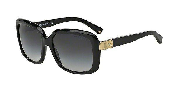 Emporio Armani Damen Sonnenbrille » EA4008« in 50178G - schwarz/grau