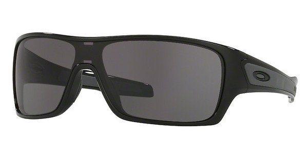 Oakley Herren Sonnenbrille »TURBINE ROTOR OO9307« in 930701 - schwarz/grau