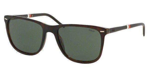 Polo Herren Sonnenbrille » PH4064« in 503571 - braun/grün