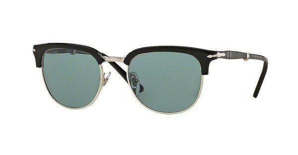 Persol Herren Sonnenbrille » PO3132S« in 95/4N - schwarz/blau