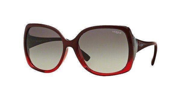 Vogue Damen Sonnenbrille » VO2695S« in 234811 - rot/grau