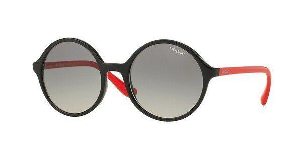 VOGUE Vogue Damen Sonnenbrille » VO5036S«, schwarz, W44/11 - schwarz/grau