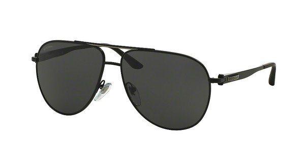 Bvlgari Herren Sonnenbrille » BV5037« in 128/87 - schwarz/grau