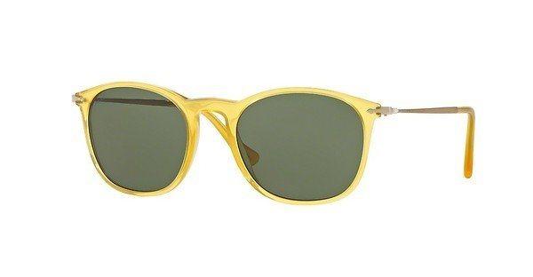 Persol Herren Sonnenbrille » PO3124S« in 204/31 - gelb/grün