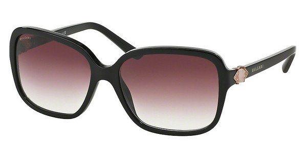 Bvlgari Damen Sonnenbrille » BV8150B« in 501/8H - schwarz/lila