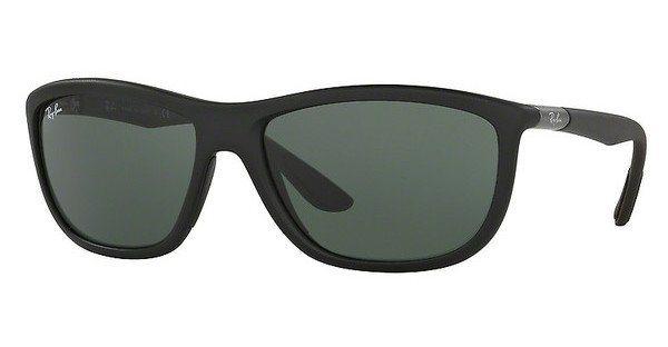 RAY-BAN Herren Sonnenbrille » RB8351« in 622071 - schwarz/grün