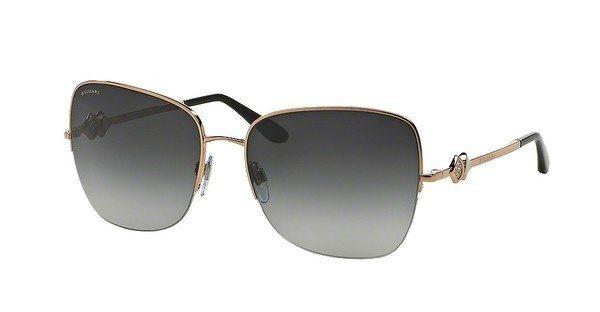 Bvlgari Damen Sonnenbrille » BV6077B« in 376/8G - rosa/grau