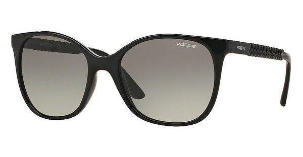 Vogue Damen Sonnenbrille » VO5032S« in W44/11 - schwarz/grau