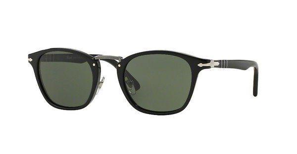 Persol Herren Sonnenbrille » PO3110S« in 95/31 - schwarz/grün