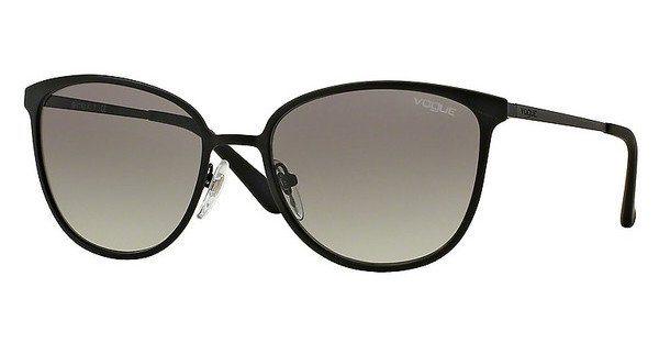 Vogue Damen Sonnenbrille » VO4002S« in 352S11 - schwarz/grau