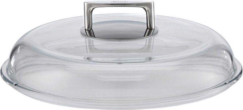 RÖSLE Glasdeckel , »SILENCE« in transparent