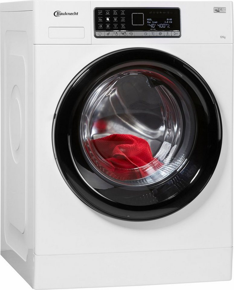 bauknecht waschmaschine wm style 1224 zen a 12 kg. Black Bedroom Furniture Sets. Home Design Ideas
