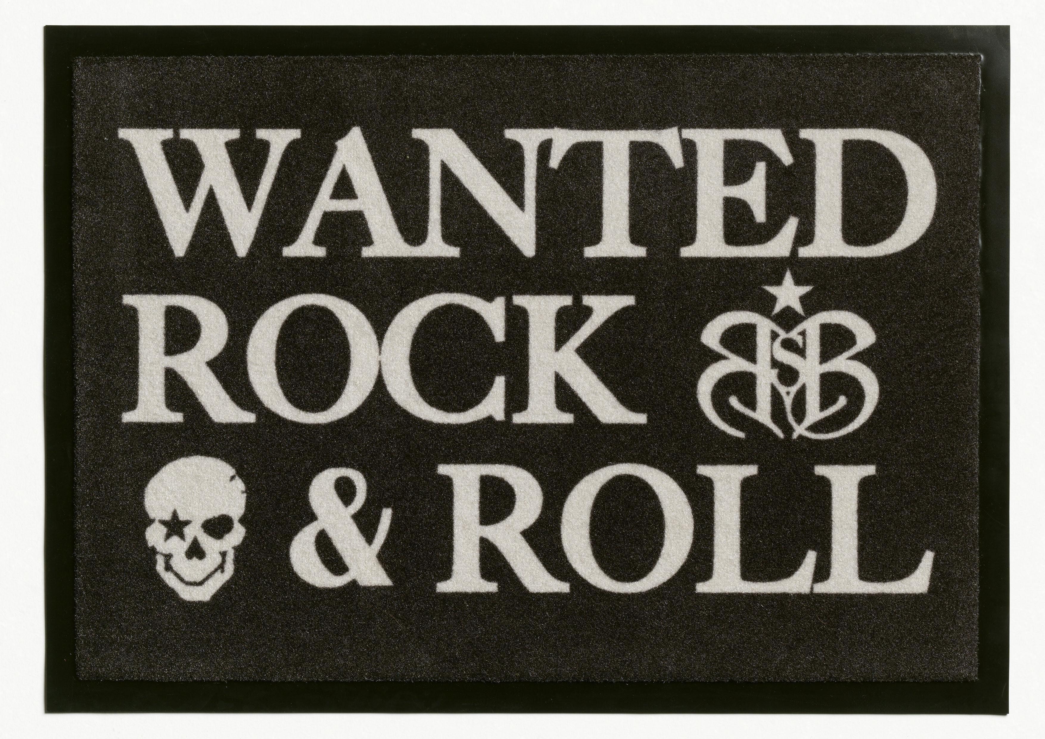 Fußmatte, Rock Star Baby, »806«, rutschhemmend beschichtet