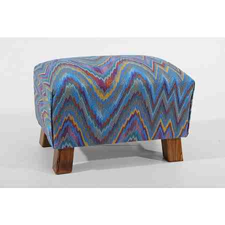 Max Winzer® Hocker »Footstool«, gemustert