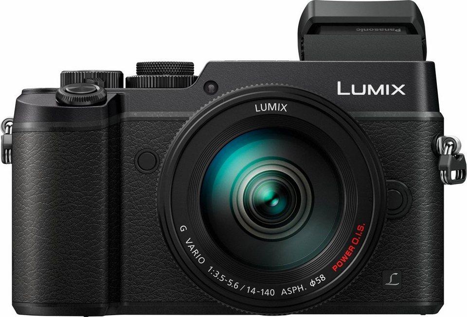 Lumix Panasonic DMC-GX8HEG System Kamera, Zoom, SD, 20,3 Megapixel, 7,5 cm (3 Zoll) Display in schwarz