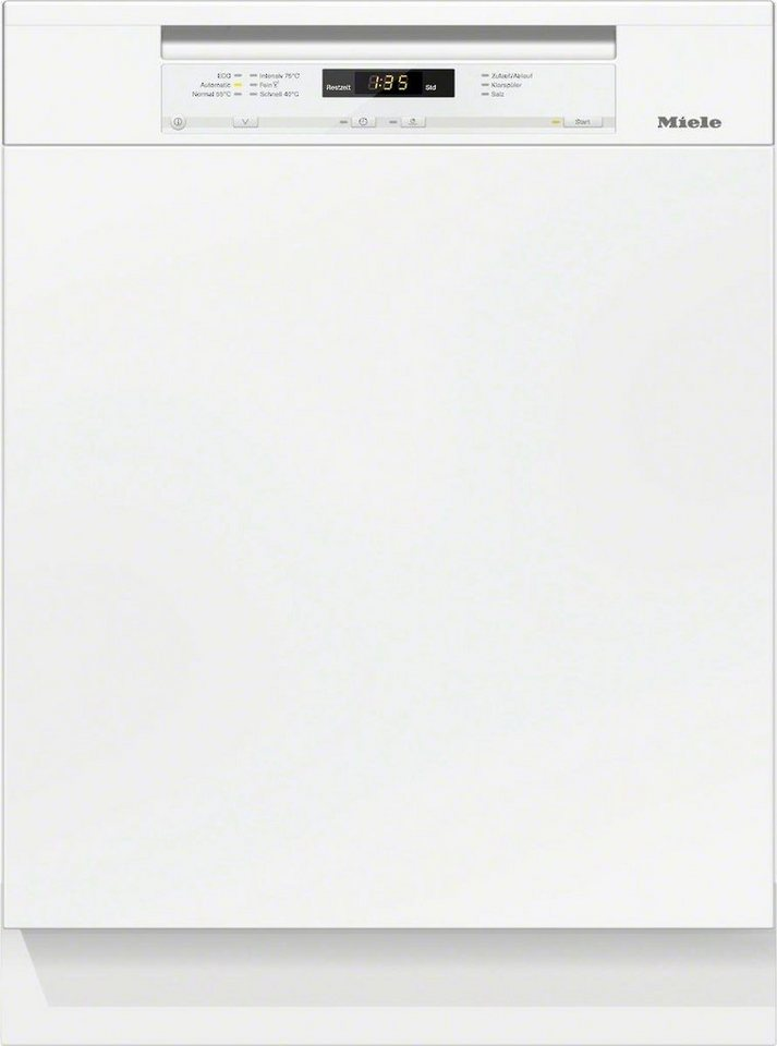 MIELE Teilintegrierbarer Geschirrspüler G 6200 Sci, A+++, 9,7 Liter, 14 Maßgedecke in weiß