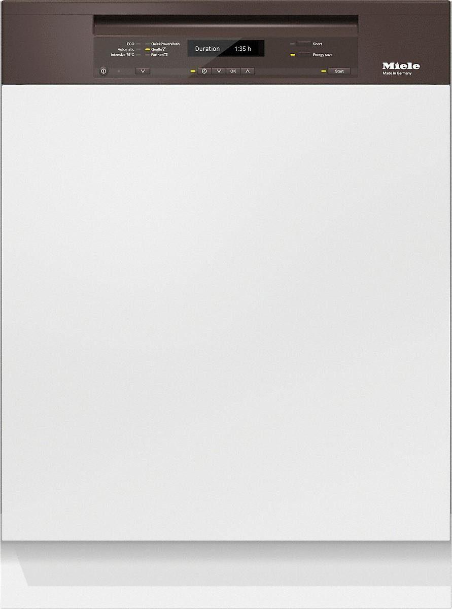 MIELE Teilintegrierbarer Geschirrspüler G 6730 SCi braun, A+++, 9,7 Liter, 14 Maßgedecke