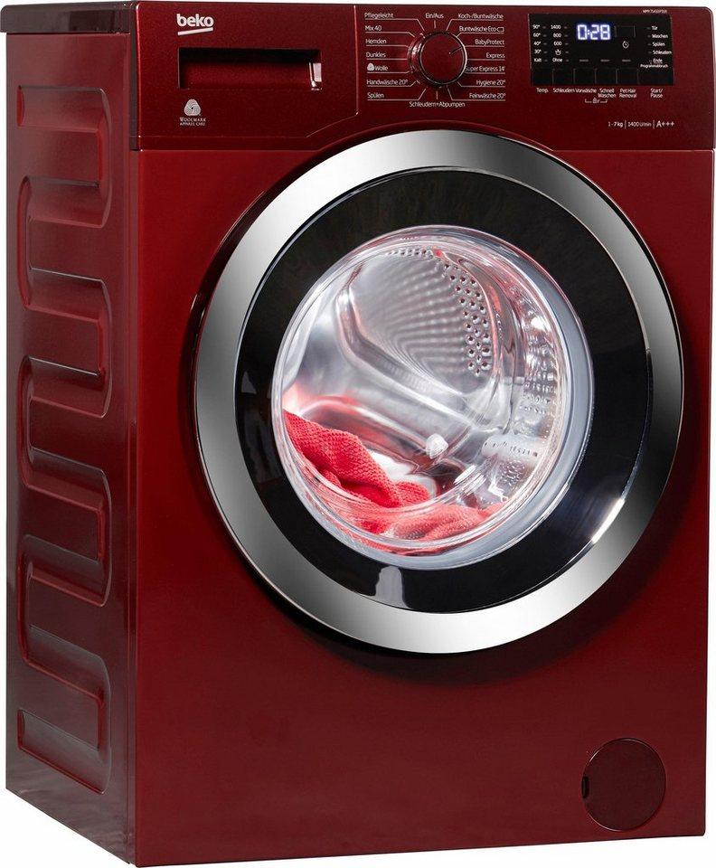 beko waschmaschine wmy 71433 pte 7 kg 1400 u min otto. Black Bedroom Furniture Sets. Home Design Ideas