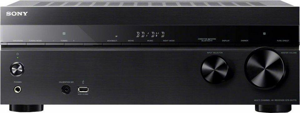 Sony STR-DH770 7.2 AV-Receiver (Spotify Connect, Bluetooth, NFC) in schwarz