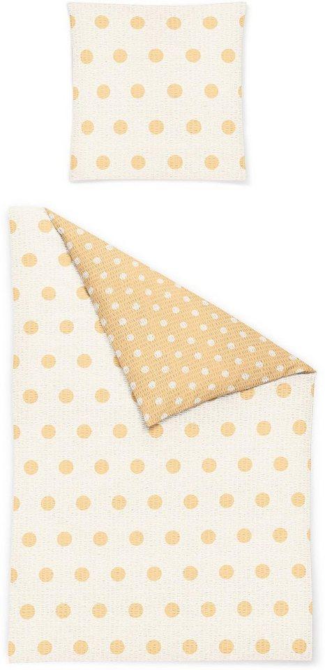 bettw sche irisette calypso 8494 mit kleinen punkten online kaufen otto. Black Bedroom Furniture Sets. Home Design Ideas