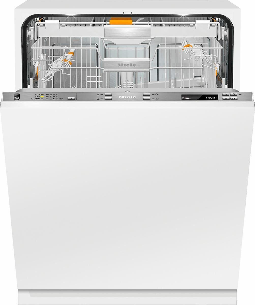 MIELE Vollintegrierbarer Einbaugeschirrspüler G 6895 SCVi XXL K2O, A+++, 9,9 Liter, 14 Maßgedecke