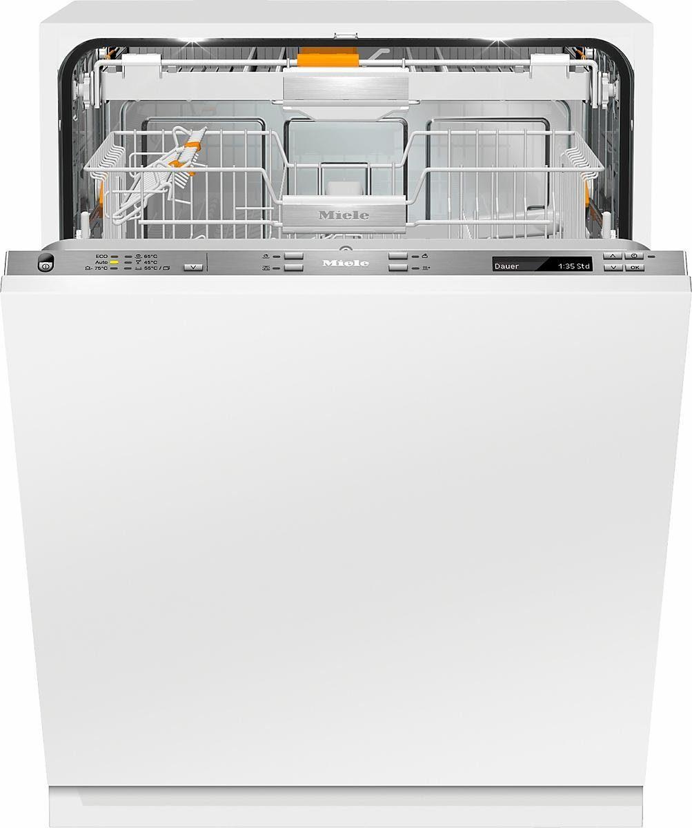MIELE Vollintegrierbarer Einbaugeschirrspüler G 6890 SCVi K2O, A+++, 9,9 Liter, 14 Maßgedecke
