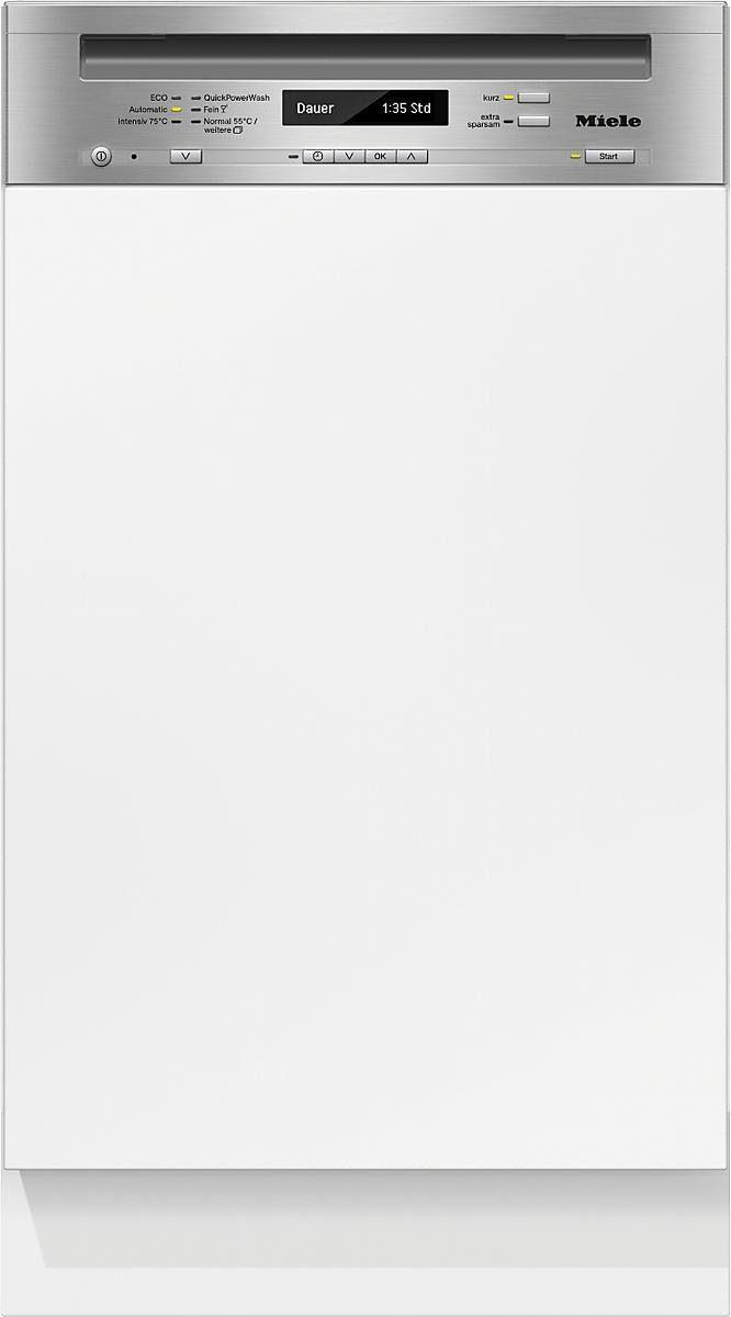 MIELE Teilintegrierbarer Geschirrspüler G 4820 SCi, A+++, 8,7 Liter, 9 Maßgedecke