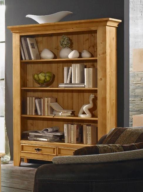 Premium collection by Home affaire Bücherregal »Cornwall«, Höhe 175 cm in natur gewachst