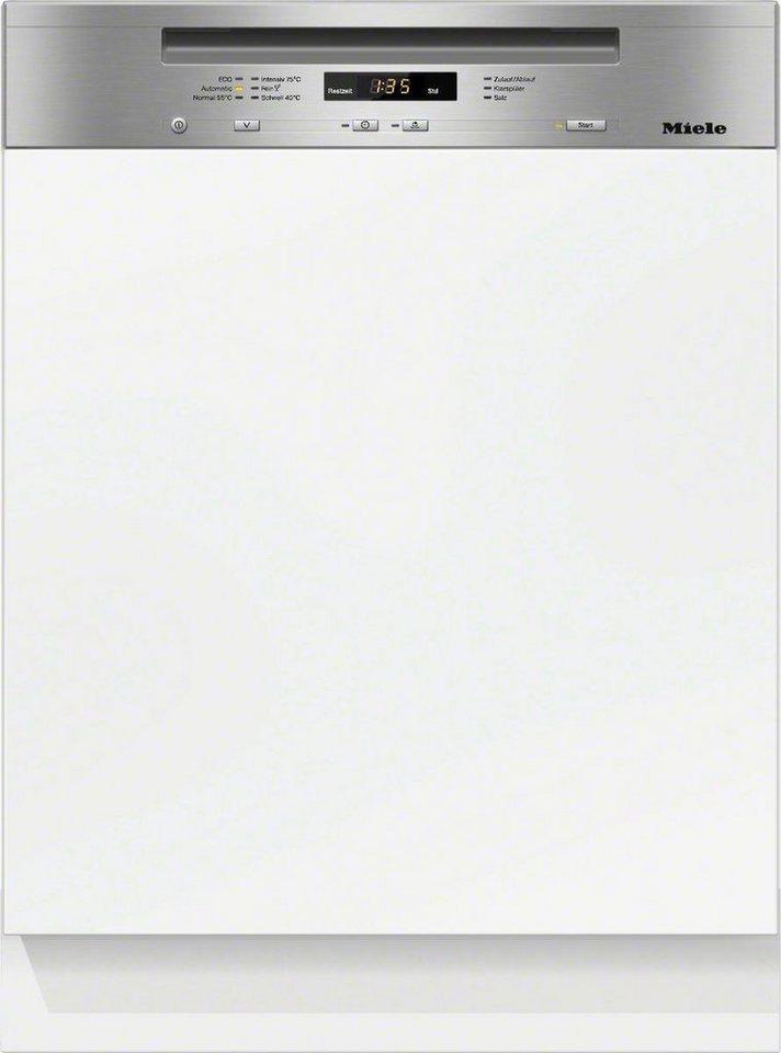 MIELE Geschirrspüler G 6200 i, A+++, 9,7 Liter, 13 Maßgedecke in silberfarben