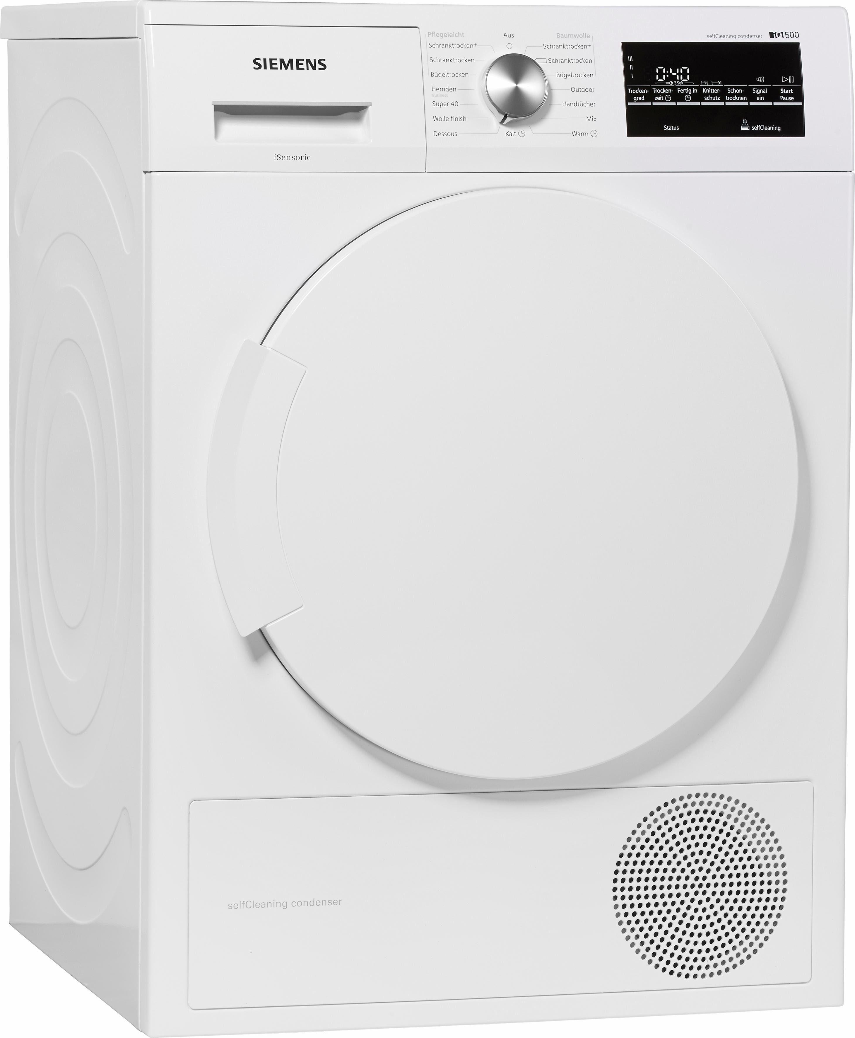 Trockner iQ500 WT43W460, A++, 7 kg