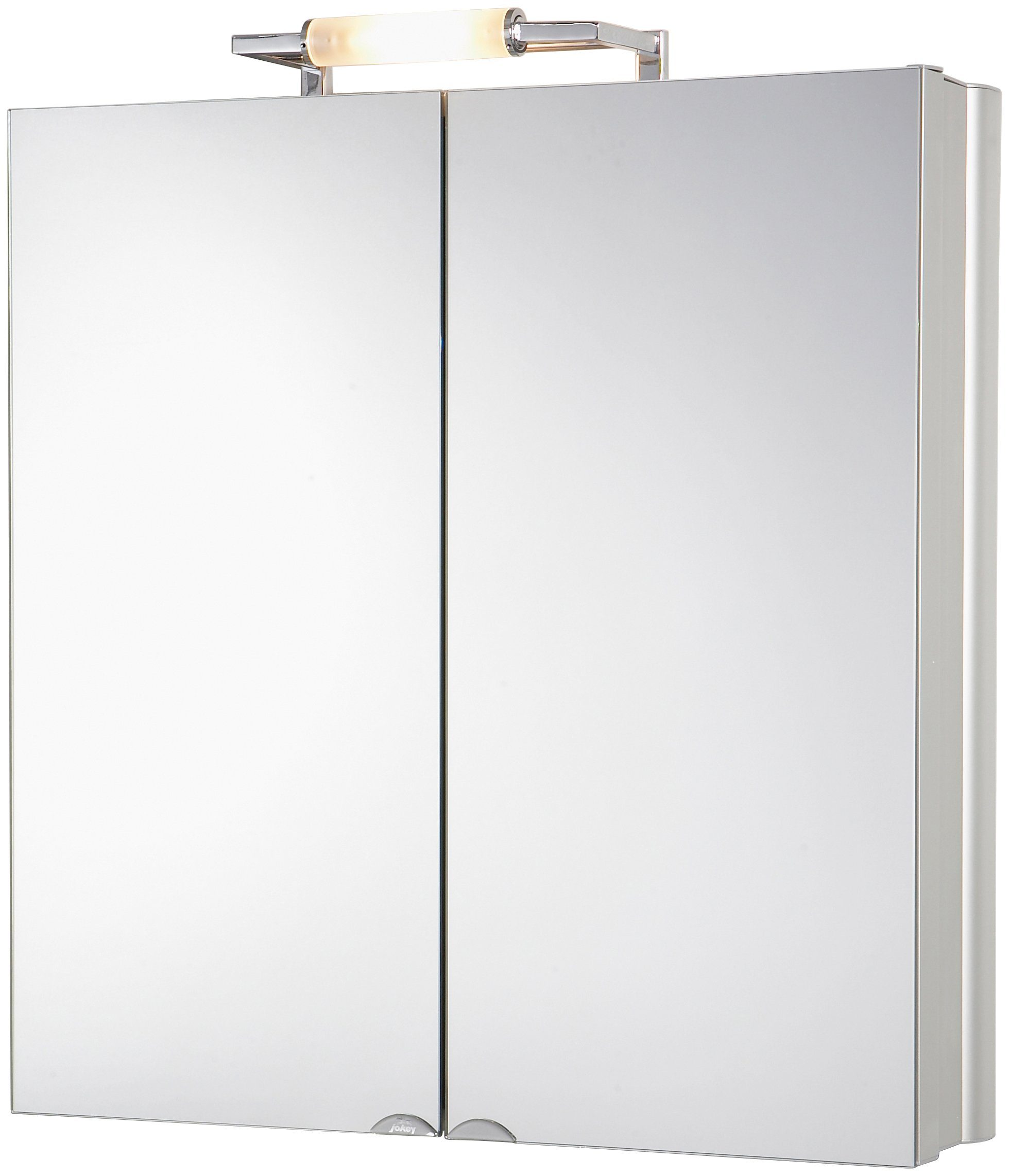 Spiegelschrank »BelAlu« Breite 65 cm, mit Beleuchtung