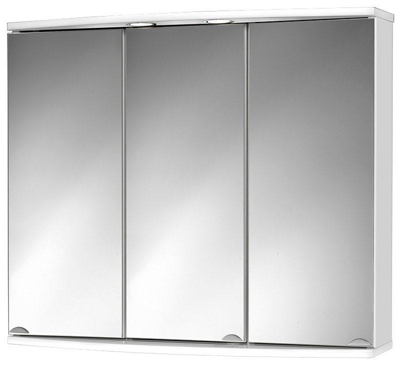 Spiegelschrank »Modena« Breite 83 cm, mit LED-Beleuchtung in weiß