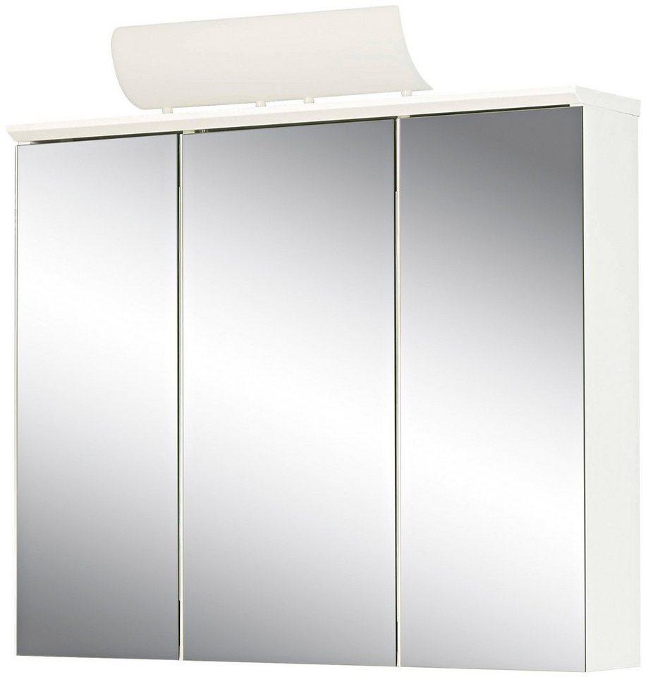 Spiegelschrank »Manos« Breite 72,5 cm, mit Beleuchtung in weiß
