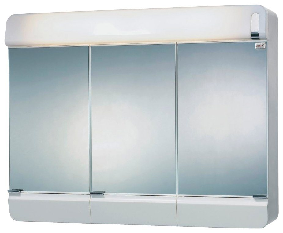 Spiegelschrank »Alida« Breite 68,5 cm, mit Beleuchtung in weiß
