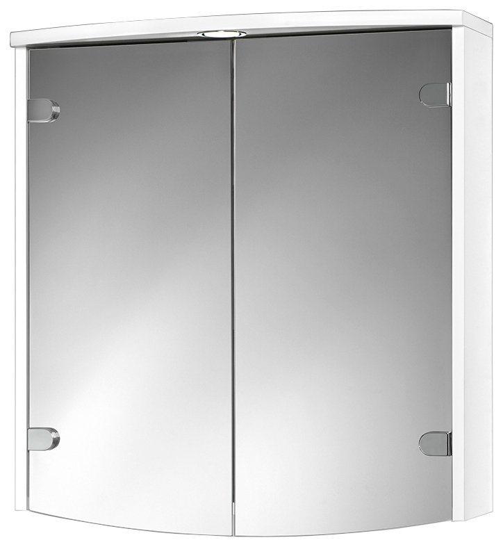 Spiegelschrank »Joba« Breite 63 cm, mit LED-Beleuchtung in weiß