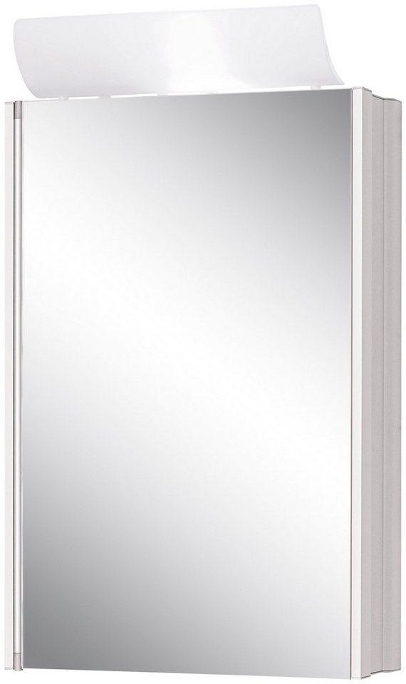jokey spiegelschrank singlealu breite 45 cm mit beleuchtung online kaufen otto. Black Bedroom Furniture Sets. Home Design Ideas