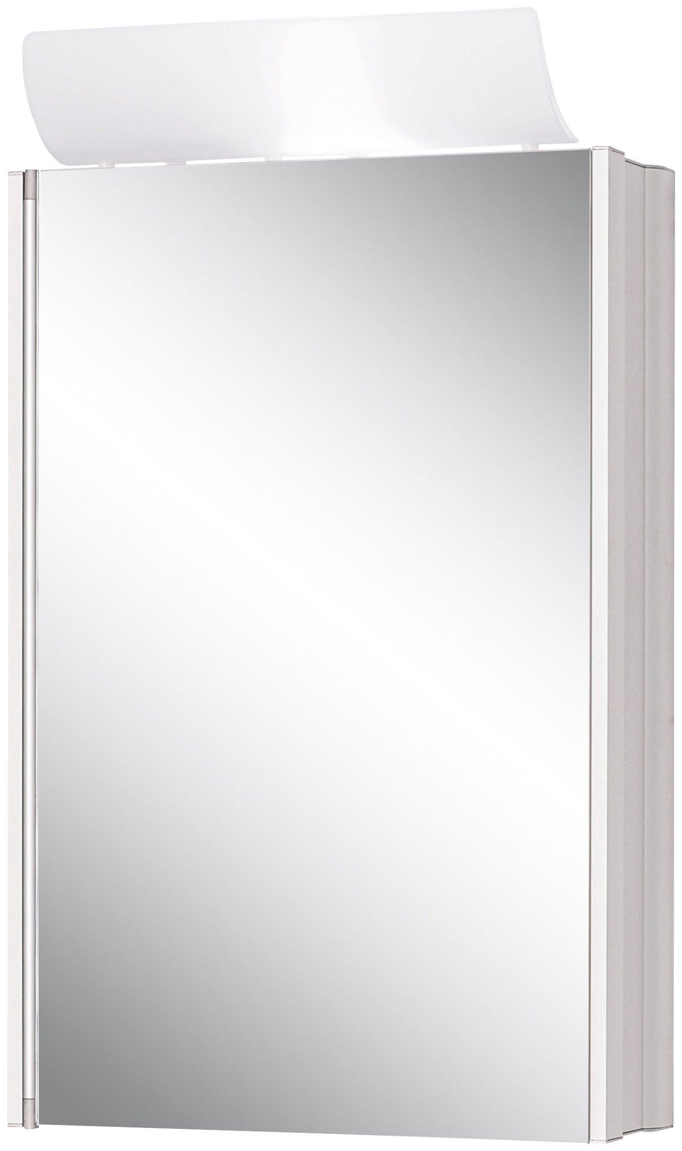 Jokey Spiegelschrank »SingleAlu« Breite 45 cm, mit Beleuchtung