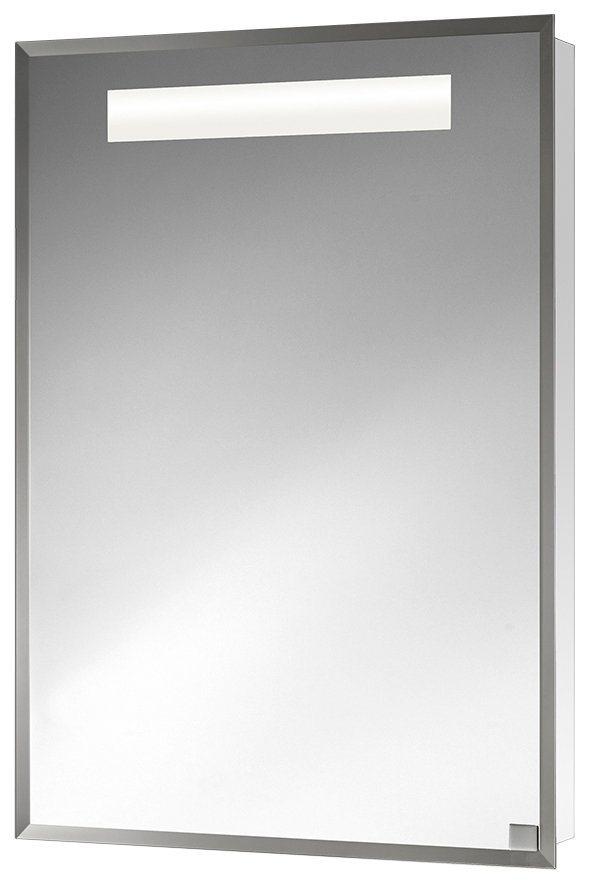 Spiegelschrank »Diego« Breite 55 cm, mit Beleuchtung in weiß
