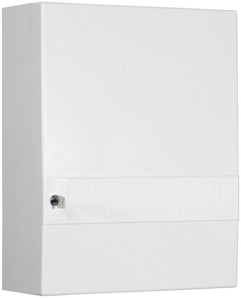 SIEPER Medizinschrank »Hausapotheke«, Breite 35 cm in weiß