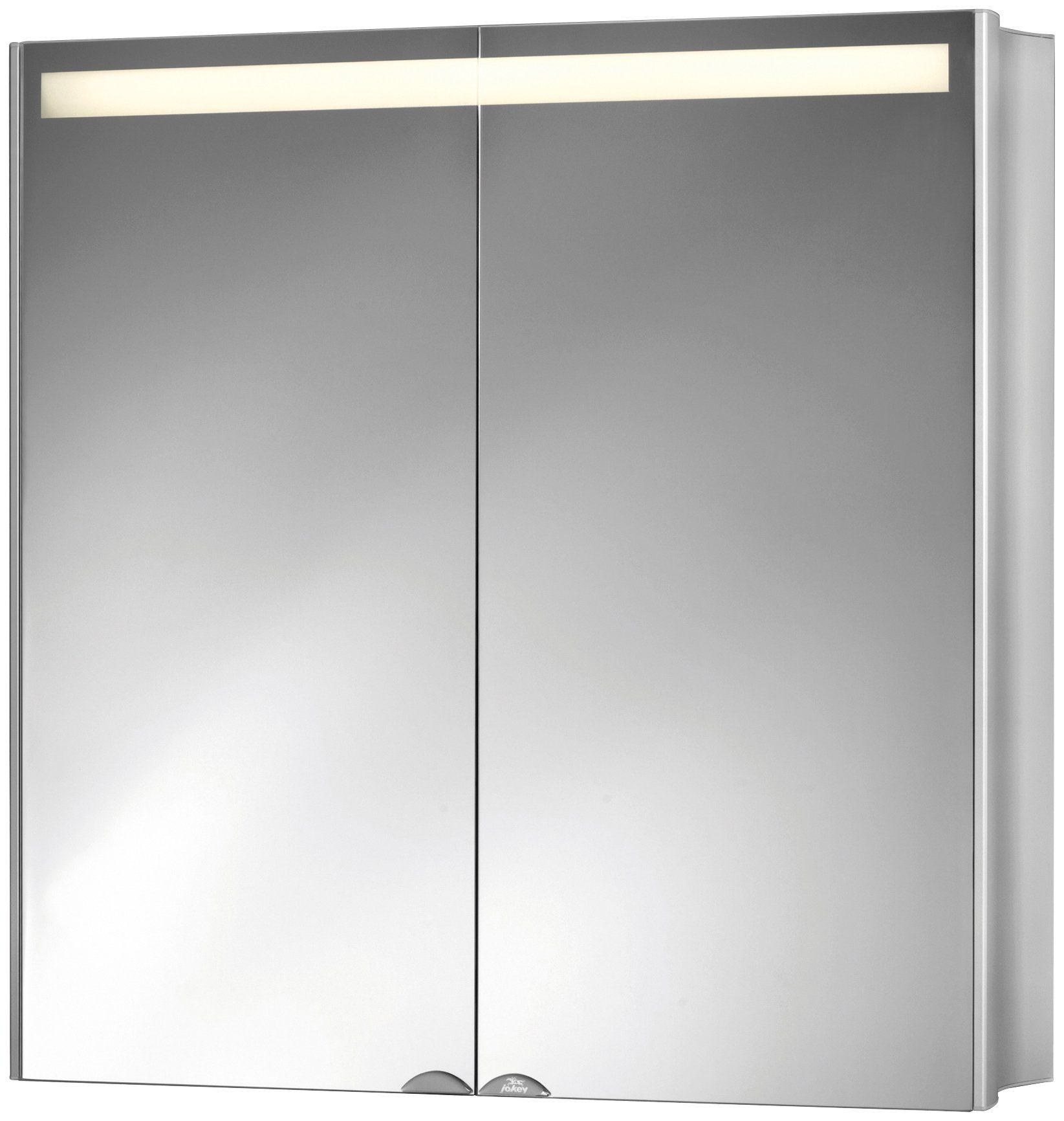 Spiegelschrank »Aluwave« Breite 66,5 cm, mit LED-Beleuchtung