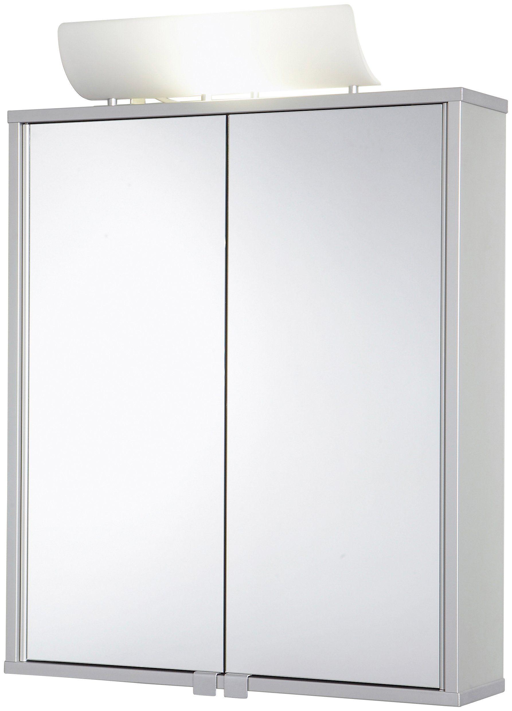 Jokey Spiegelschrank »Alusmart« Breite 60 cm, mit Beleuchtung